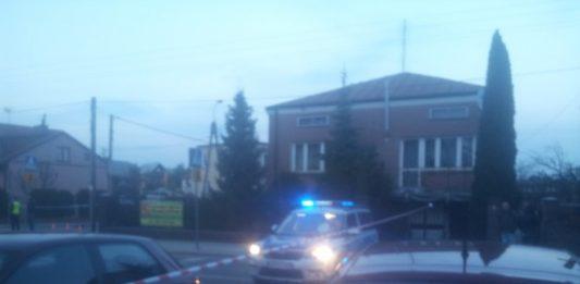 Śmiertelne potrącenie pieszego na ulicy Szosowej w Sulejówku