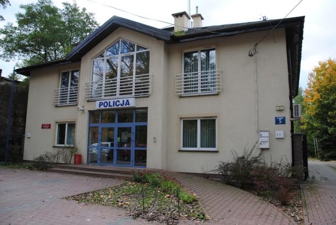 Budynek Komisariatu Policji w Sulejówku (Źródło: KPP w Mińsku Mazowieckim)