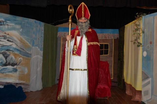Wizyta Świętego Mikołaja w Ochotniczej Straży Pożarnej w Sulejówku
