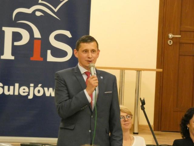 Burmistrz Sulejówka Arkadiusz Śliwa