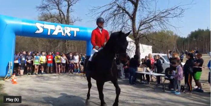 Zobacz start III Biegu o Złotą Podkowę Kasztanki Marszałka!