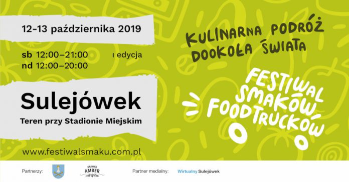 I Festiwal Smaków Food Trucków w Sulejówku - plakat