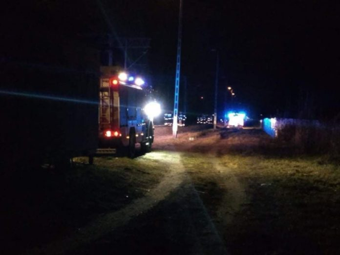 Śmiertelne potrącenie przez pociąg przy stacji PKP Sulejówek Miłosna (Fot: Robert)
