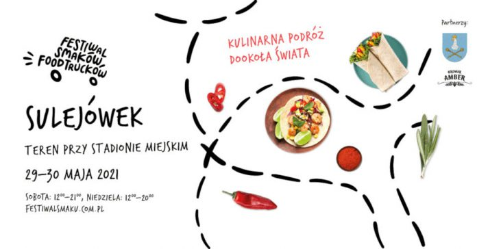 Trzeci Festiwal Smaków Food Trucków w Sulejówku 2021